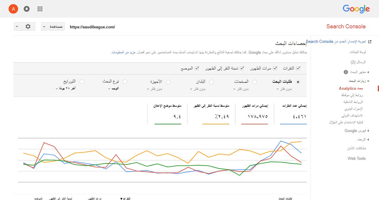 تسريع و ارشفة موقع الدوري السعودي