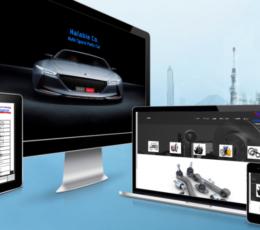 برمجة و تصميم موقع شركة قطع غيار سيارات لصالح شركة قطع غيار بكوريا